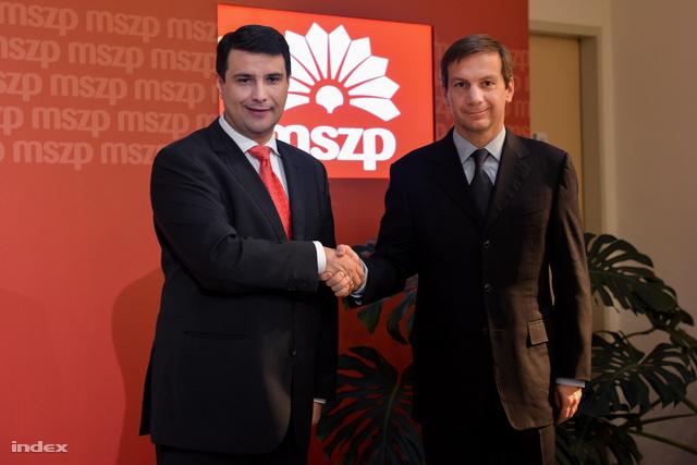 Mesterházy Attila és Bajnai Gordon megállapodott a miniszterelnök-jelölt személyében