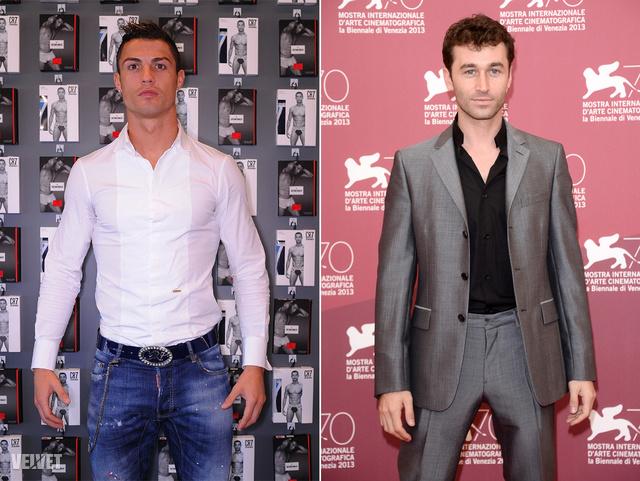 Cristiano Ronaldo és James Deen