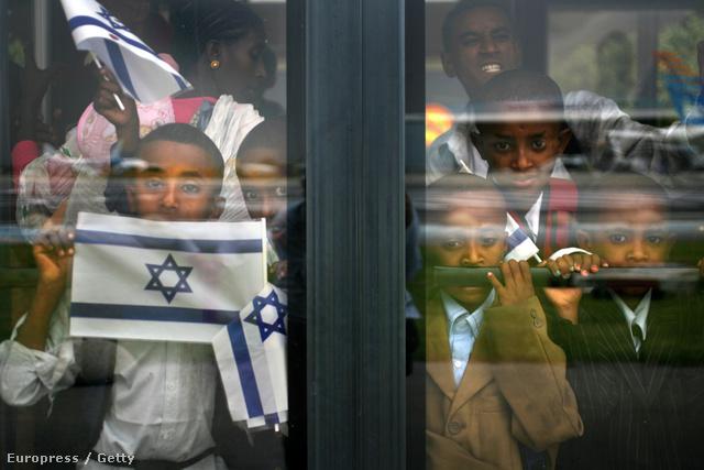 Etióp zsidó gyerekek