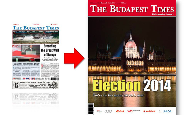 Infogragika a Budapest Times megújulásáról.