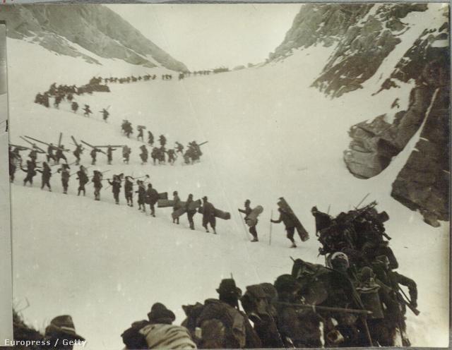 Olasz katonák az Alpokban, Adamellónál