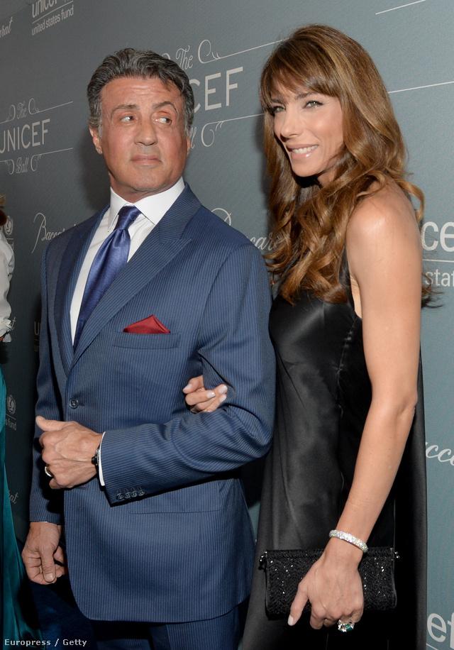 Sylvester Stallone és Jennifer Flavin