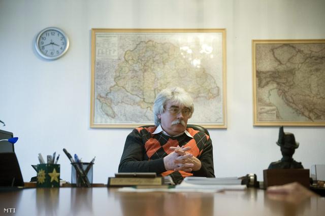 Szakály Sándor történész a VERITAS Történetkutató Intézet főigazgatója