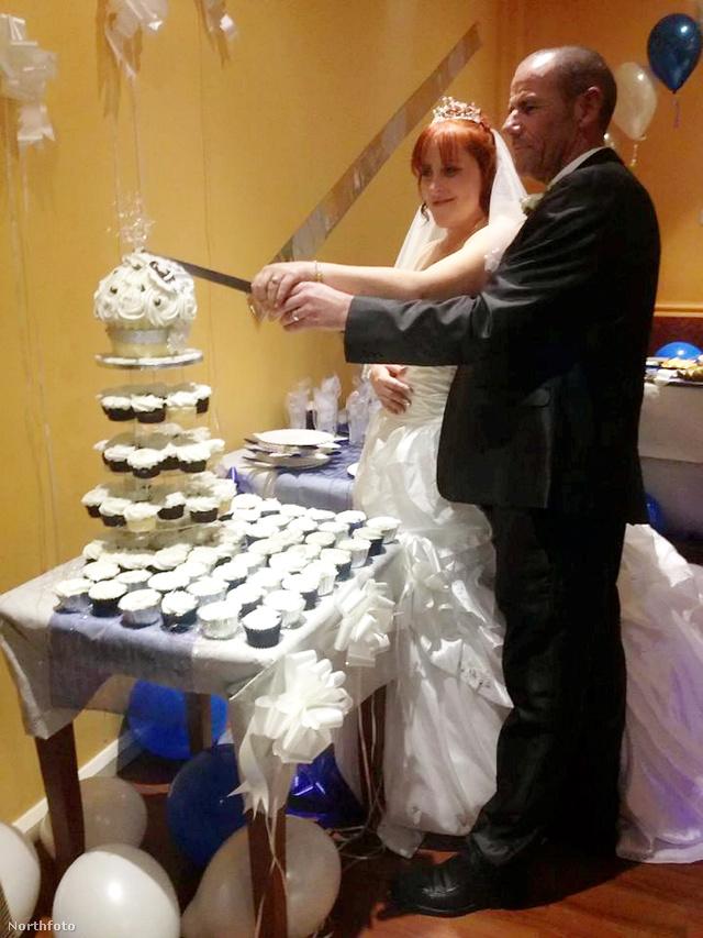 David és Sandra Greatrex – egy nap késéssel, de azért sikerült megtartani az esküvőt