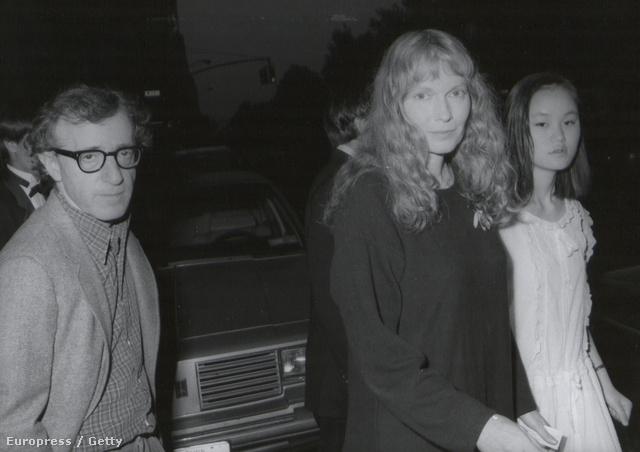 1985: Woody Allen, Mia Farrow és Soon-Yi