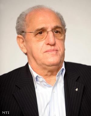 Balogh István a Gyermekrák Alapítvány vezetője
