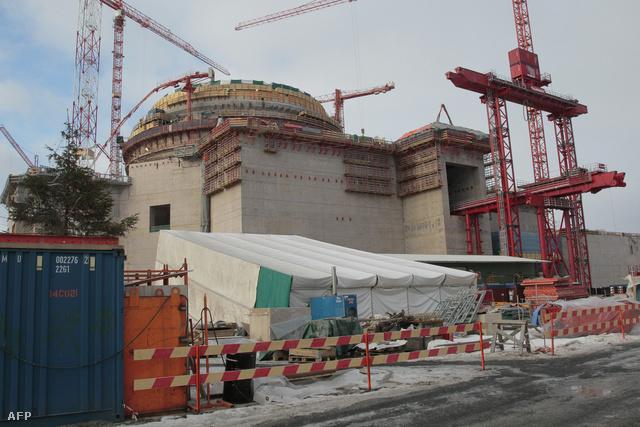 A finn olkiluoto-i erőmű 2010-ben
