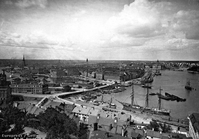Stockholm, az 1900-as években