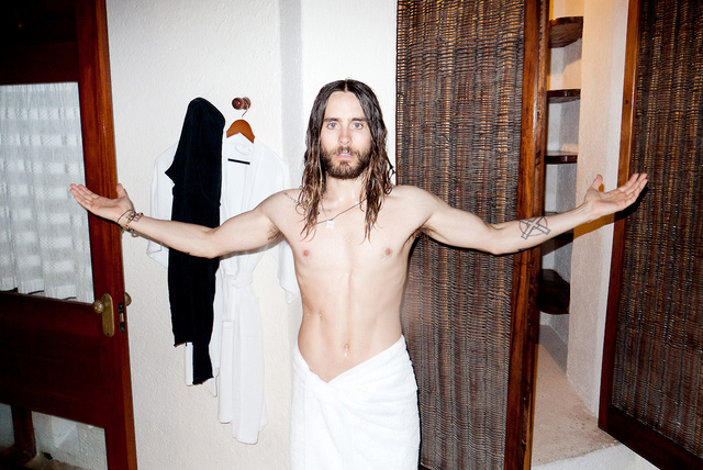 Jared Leto Terry Richardsonnál