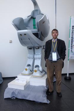Lépegető robot, székkel