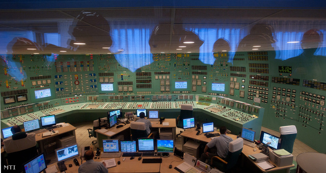 A paksi atomerőmű 3-as és 4-es blokkjának irányítóközpontja