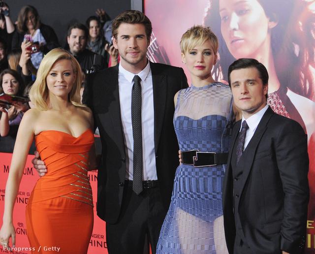 Josh Hutcherson és mindenki más, aki sokkal magasabb nála