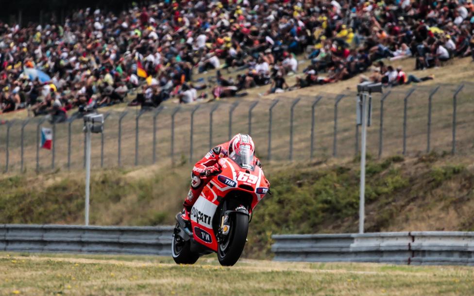 Nicky Haydent utoljára láthatta a cseh nagydíj közönsége egy Ducati nyergében.