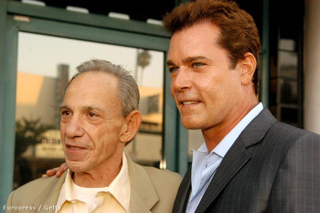 Az igazi Henry Hill és az őt megformáló Ray Liotta 2004-ben