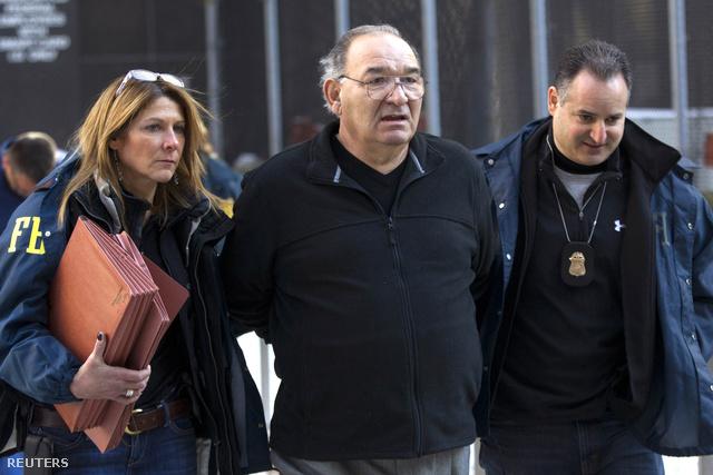 Az FBI nyomozói vezetikel Thomas DiFiorét január 23-án