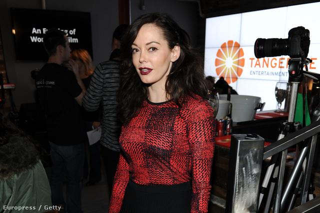 Rose McGowan a Sundance filmfesztiválon