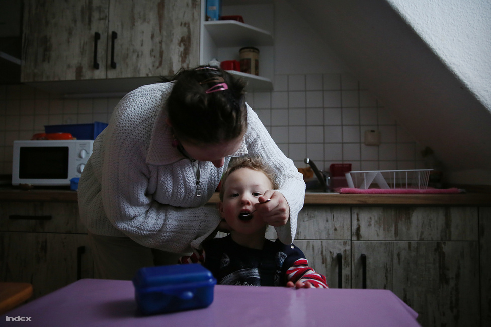 Magyarországon nincs a friesacki házhoz hasonló program, ami gyerekvállaló, értelmi fogyatékkal élőket támogatna, sőt, Németországban is egyedülálló, ugyanis ebben a programban együttműködik a fogyatékkal élő szülőkért felelős szociális hivatal és a gyerekekért felelős gyámhivatal. Itthon a fogyatékos szülők számáról külön adatgyűjtés még nem volt, így azt sem lehet tudni, hogy az értelmi fogyatékos magyarok hány százaléka vállal gyereket, mondta Orosz Andrea, a Kézenfogva Alapítvány munkatársa. Nálunk a családsegítők látják el az értelmi fogyatékossággal élő szülők támogatását, de csak ambulánsan,  illetve fogyatékos személyekkel foglalkozó szervezetek egy része is ellát ilyen feladatot. Van olyan intézmény (az Egyenlő Esélyekért Alapítvány, Csömörön) ahol több értelmi fogyatékos pár is él és nevel gyermeket, és ehhez támogatást, segítséget kapnak. A rászoruló szülők intézményi ellátását a német programban a helyi szociális hivatal finanszírozza, a gyámhatóság pedig a gyerekeknek a szülőkkel közös elhelyezését intézeti lakóformának tekinti, és ennek megfelelően biztosítja a nevelés, az ápolás és a lakhatás költségeit. Összességében a gyerekek után napi 113 eurót, a felnőttek után napi 90 eurót fizet a két hivatal az összes szolgáltatásra. Ezen az összegen kívül a szülők havi nettó 200 euró juttatásban részesülnek, ennek fele a munka után járó jövedelmük, a másik fele költőpénz.
