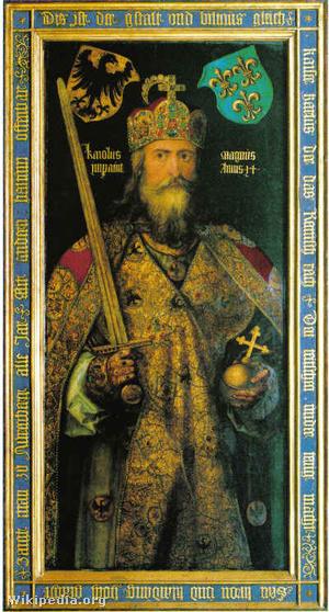 I. Károly Albrecht Dürer festményén