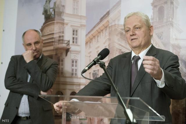 Tarlós István és Ughy Attila