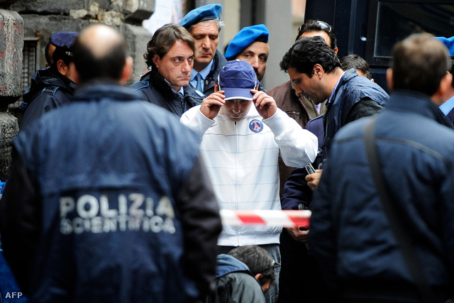 Costanzo Apice, az olasz maffia fiatal bérgyilkosa 28 éves volt, amikor elkapták 2009-ben
