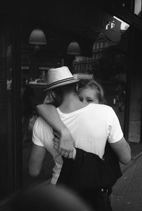 Bruno Bourelnek külön sorozata van budapesti szerelmespárokról is.