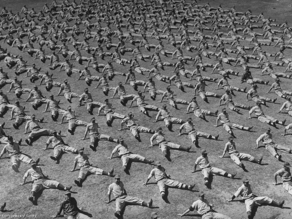 A felvétel alig pár évvel a második világháború után, 1948-ban készült a floridai Vero Beachen, egy elhagyatott haditengerészeti repülőtéren. 550 fiatal amerikai lepte el a kisvárost, hogy a Brooklyn Dodgersben baseballozzon. A fiatal reménységek nyolc héten át gyakorlatoztak a bentlakásos edzőtáborban, Vero Beach később a Dodgertown becenevet kapta.