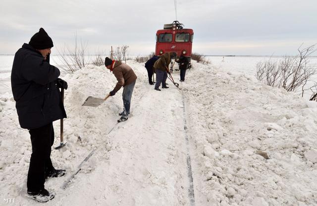 Hóhelyzet Szerbiában