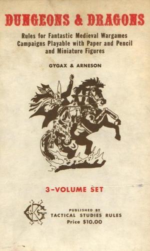Az első D&D címlapja