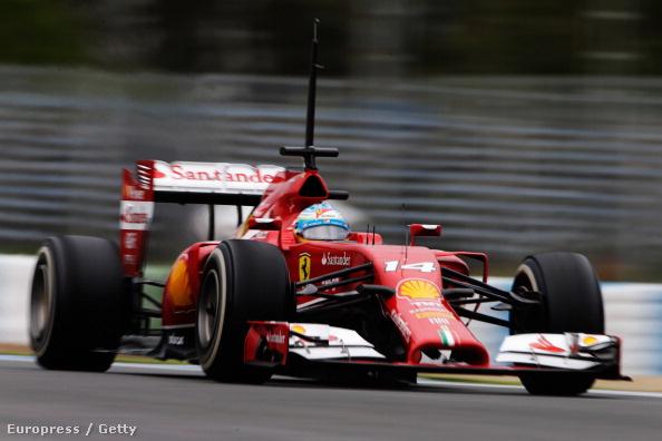 Fernando Alonso a turbo-Ferrariban