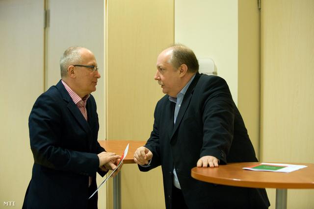 Simon Gábor és Kiss Péter
