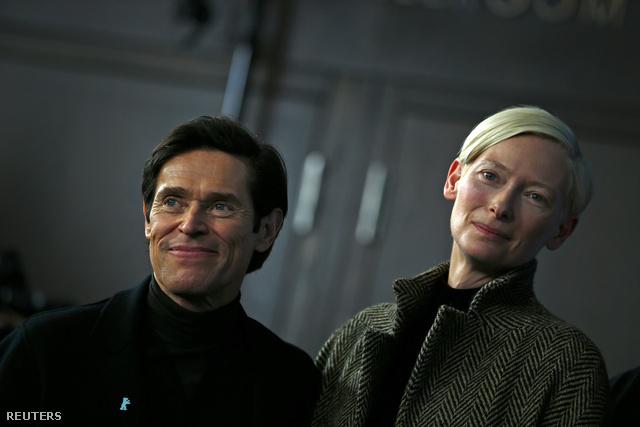 Willem Dafoe és Tilda Swinton