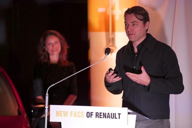Laurens van den Acker rajzolja a Renault új arcát