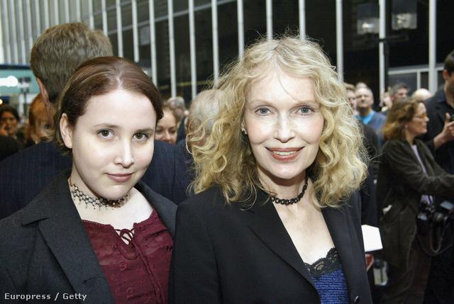 Dylan és Mia Farrow