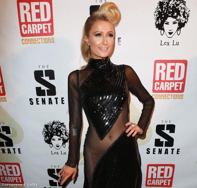 Paris Hilton, szintén a Grammy-kiosztó estéjén január 24-én