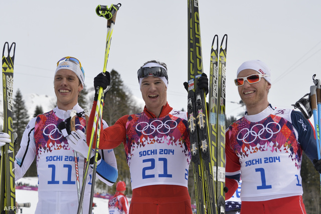 Marcus Hellner, Dario Cologna, Martin Jonhsrud Sundby