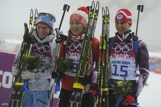 Tora Berger, Darja Domracseva és Teja Gregorin