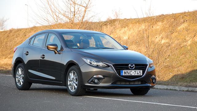 Egyértelmű a közeli rokonság a Mazda 6-hoz