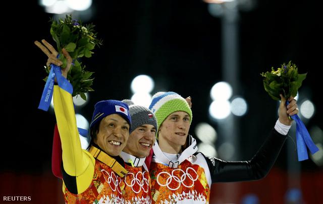 Noriaki Kaszai, Kamil Stoch és Peter Prevc