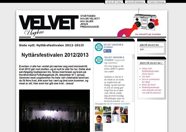 A norvég Velvet.