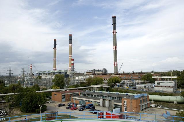 A Dunamenti Erőmű Százhalombattán 2012. szeptember 27-én.