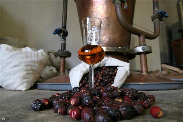 Szárított gyümölcsök pálinkával. A Bakonyban található erdei vadgyümölcsökből készít pálinkát a csetényi Varga László pálinkafőző-mester. Az 1967-ben épült pálinkafőzdében a régi, hagyományos rézüstös, fatüzeléses rendszerben készítik a pálinkát. Olyan erdei gyümölcsöket erjesztenek, például csipkét, bodzavirágot, galagonyát, amelyekből ritkán készül pálinka. A termékek között megtalálhatóak a fekete ribiszkéből, szamócából, naspolyából, birsalmából készült kisüsti párlatok is.