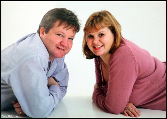 Az elhunyt David Atkins a testvérével, Catherine Kerrigannel.