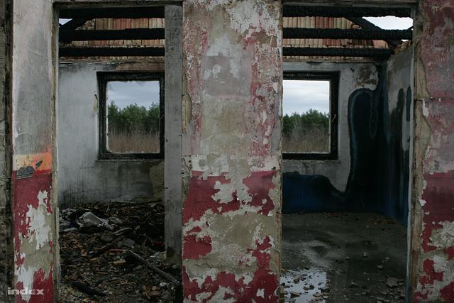 A kiégett tatárszentgyörgyi ház
