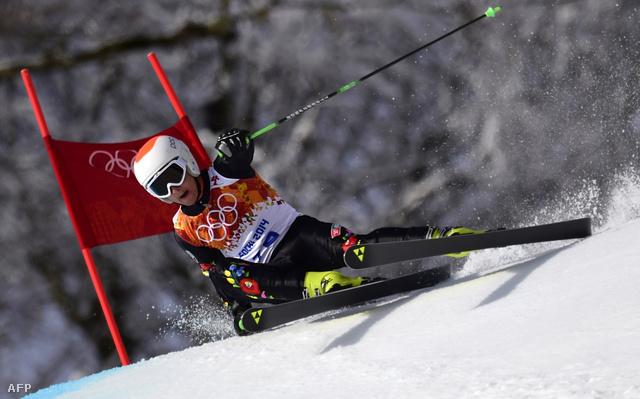 Farkas Norbert az 58. helyen áll a műlesiklás első futama után.