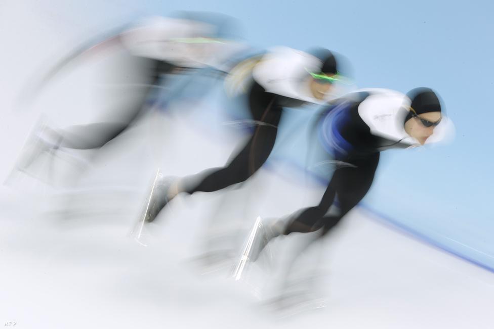 Gyorsnak tűnnek a kanadaiak a gyorskorcsolya-csapatversenyben, de ez a sportág leginkább a hollandokról szólt, akik a férfiaknál és nőknél kiosztott összesen 36 éremből 23-at szereztek meg. A férfiaknál három, a nőknél egy számban más ország nem is fért fel a dobogóra.