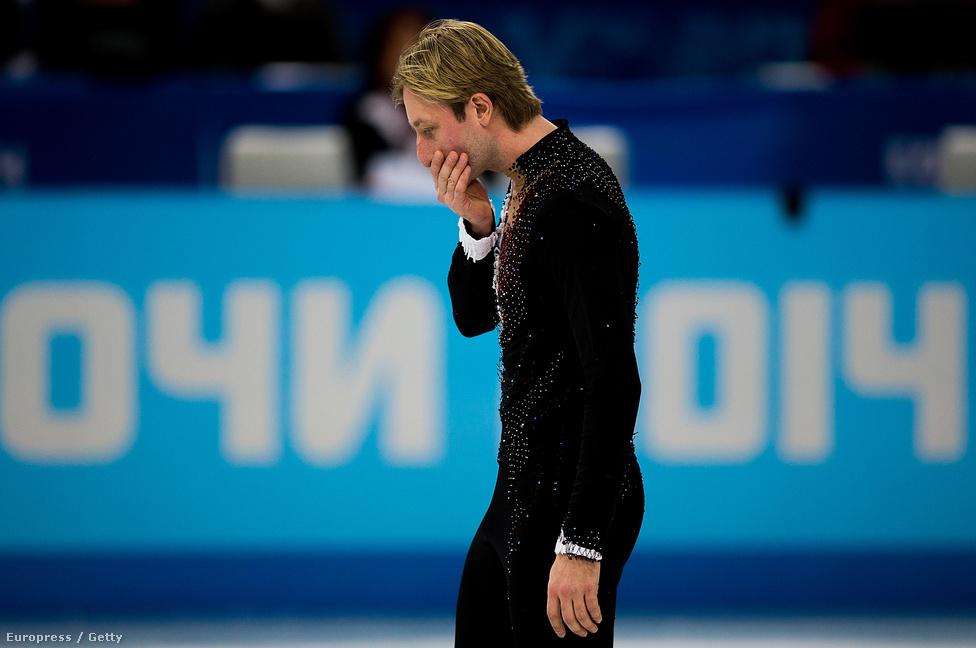 Szocsiban egy legenda búcsúzott a műkorcsolyától, miután Jevgenyij Pljuscsenko a férfi egyéni szám bemelegítése közben megsérült, ezért visszalépett, majd nem sokkal később bejelentette, hogy végleg visszavonul. A hétszeres világbajnok második olimpiai aranyával fejezte be pályafutását, miután első helyhez segítette az oroszokat a csapatversenyben.
