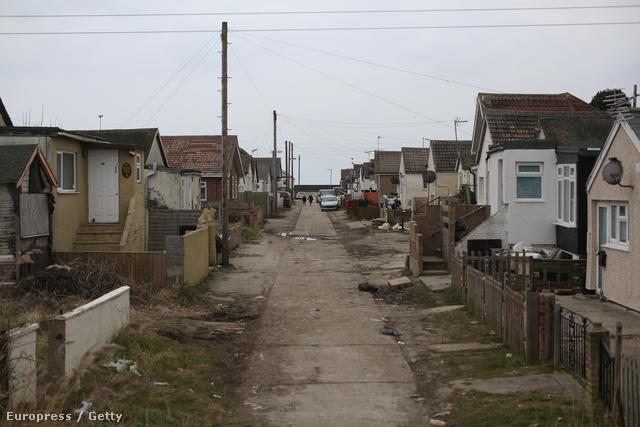 Üresen hagyott házak az angliai szellemvárosban, Jaywickben