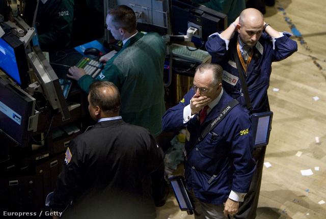 Kereskedők az NYTSE-n 2008. szeptember 17-én