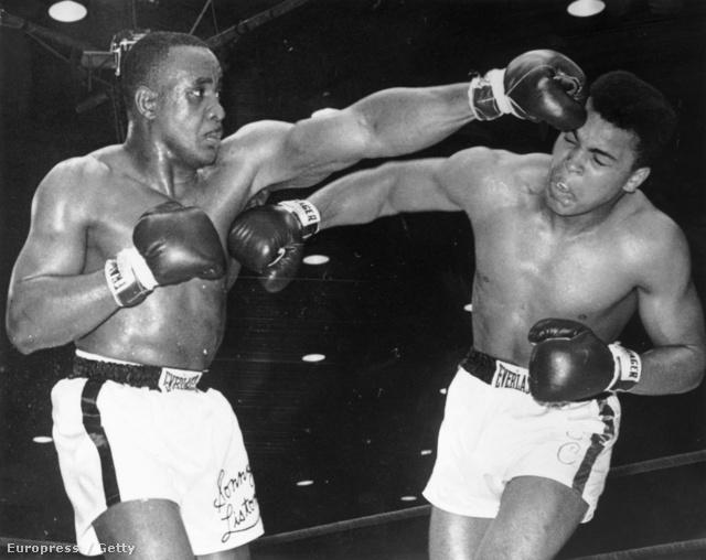 Sonny Liston és Cassius Clay, később Muhammad Ali meccse 1964. február 25-én