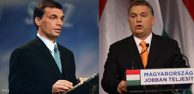 Orbán Viktor az 1999-es, és a 2014-es évértékelő beszédén